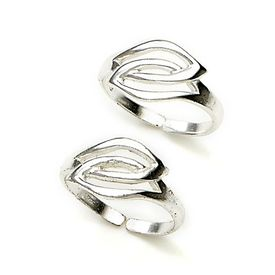 Entwined Loop Toe Ring-TR90
