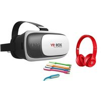V R BOX+ Beats Monster+ LED Light Stick Combo