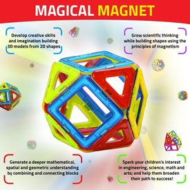 Magical Magnet Building Learning Toy Set For Kids