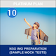 Class 10- NSO IMO Preparation ( Sample Mock Tests), gold plan