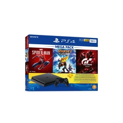 Sony PS4 500GB Console with 3 Games+ 3 Months Live Subscription