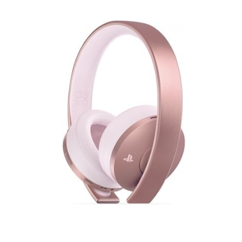 Sony Playstation Gold Wireless Headset, Rose Gold Edition