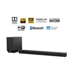 Sony HT-ST5000 800W 7.1. 2 Channel Dolby ATMOS Sound Bar, Surround Sound Home Theatre Experience