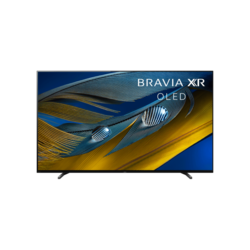 Sony 77 Inch BRAVIA XR A80J OLED Smart Google TV, 4K Ultra HD High Dynamic Range HDR, XR-65A80J, 2021 Model
