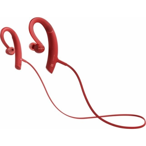 Sony XB80BS EXTRA BASS Sports In-ear Bluetooth Headphones, Red