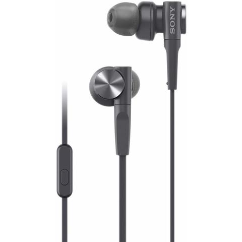 Sony MDR-XB55AP Extra Bass in-Ear Headphone, Black