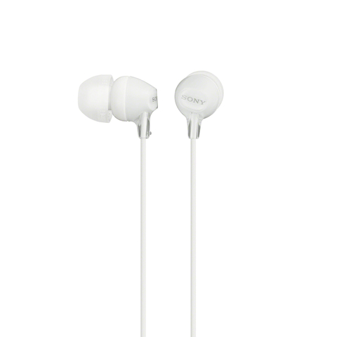 Sony MDREX15LP In-ear Headphones without Mic, White