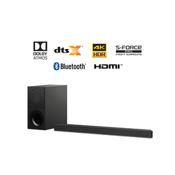 Sony HT-X9000F 2.1ch 4K HDR Premium Surround Soundbar with Dolby Atmos and DTS: X