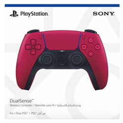 Sony PS5 DualSense Wireless Controller, Cosmic Red