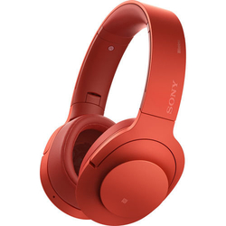 Sony MDR-1000ABN h. ear on Wireless NC Bluetooth Headphones, Cinnabar Red