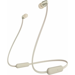 Sony WI-C310 Wireless In-ear Headphones with Mic for phone call,  gold