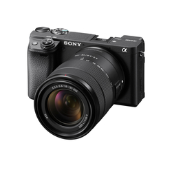 Sony ILCE-A6400 E-mount camera with APS-C Sensor