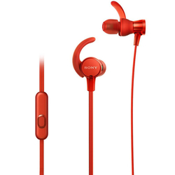 Sony EXTRA BASS Sports In-Ear Headphones (Red)