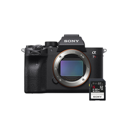 Sony Alpha a7R IV Mirrorless Digital Camera with SFG32 Kit