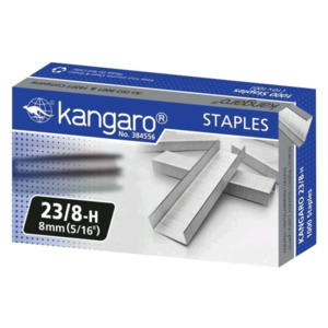 Kangaro Heavy Duty Stapler Pins (Set of 20, Metallic)