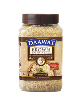 Daawat Basmati Rice– Brown, 1kg