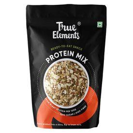 True Elements Protein Mix Roasted Pumpkin Watermelon Almonds & Soya nuts, 125 grams