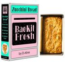 BaeKit Fresh Zucchini Bread by D-Alive (Nutrient Rich, Sugar-Free, Gluten-Free & All Natural & Healthy) - Easy Interactive DIY Baking Kit to Bake at Home, 500g