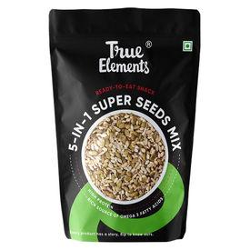 True Elements 5-in-1 Super Seeds Mix, 125 gms