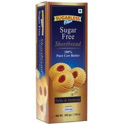Sugarless Bliss Short Bread Raspberry Jelly 200g