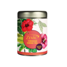 Zevic Hibiscus Herbal Green Tea with Peppermint 50 gm - 25 Servings