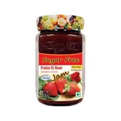 Sugarless Bliss Sugar Free Jam - Strawberry & Rose