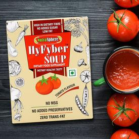 NutraSphere Instant Tomato Soup Mix Helpful for Sugar Cholesterol Control (High Fiber, Sugar Free), 1