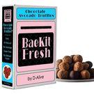 BaeKit Fresh Chocolate Avocado Truffles by D-Alive (Keto, Vegan, Sugar-free, Gluten-Free & All Natural & Healthy) - Easy Interactive DIY Baking Kit to Bake at Home, 300g