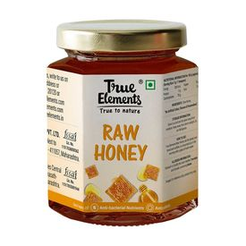 True Elements Raw Honey - Unheated And Unprocessed