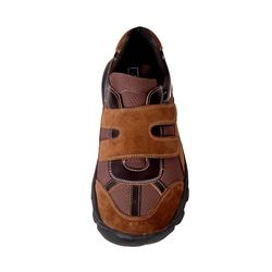 Without Lace Sport Shoes for Diabetic Patients, 9, brown