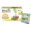 Moringa Green Tea (Lemon Flavor) With Stevia - 25 Dip Bags - Bliss Lite
