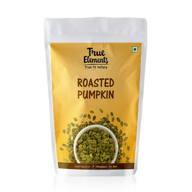 True Elements Roasted Pumpkin Seeds, 125 grams
