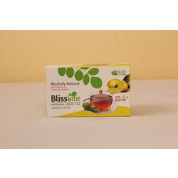 Moringa Green Tea (Lemon Flavor) With Stevia - 25 Dip Bags - Bliss Lite