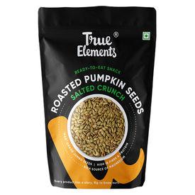 True Elements Roasted Pumpkin Seeds Salted Crunch 125gm