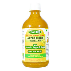 DrNATcURE Apple Cider Vinegar Blended with Turmeric, Pepper and Honey (Joint Care)