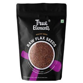 True Elements Raw Flax Seeds, 250 gms