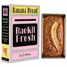 BaeKit Fresh Banana Bread by D-Alive (Nutrient Rich, Sugar Free, Gluten-Free & All Natural & Healthy) - Easy Interactive DIY Baking Kit to Bake at Home, 300g