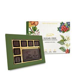 Zevic Happy Diwali Gift Pack - Sugar Free, Sweetened with Stevia 132 gm