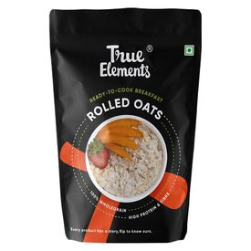 True Elements Rolled Oats Gluten Free, 500 grams