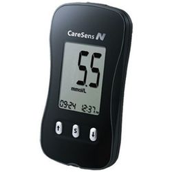 CareSens N Glucometer (Blood Glucose Monitoring System) with 100 Strips & 100 Lancets