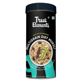 True Elements Multigrain Diet Muesli, 400 grams