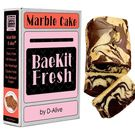 BaeKit Fresh Marble Cake by D-Alive (Dairy-Free, Gluten-Free, Sugar-Free, All Natural & Healthy) - Easy Interactive DIY Kit to Bake at Home, 850g