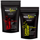 NutraSphere Hot Tomato Fiber Soup, Lemon Coriander Diet Soup Mix Powder (Combo of 2)