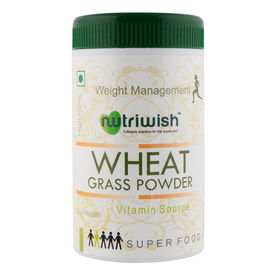 Wheat Grass Powder 100 gms - Nutriwish s