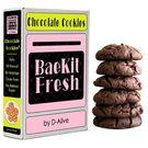 BaeKit Fresh Chocolate Cookies by D-Alive (Keto, Sugar-Free, Gluten-Free & All Natural & Healthy) - Easy Interactive DIY Baking Kit to Bake at Home, 250g