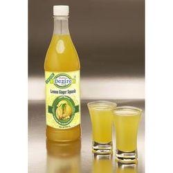 Dezire Natural Sugar Free Lemon Ginger Squash 500 Ml