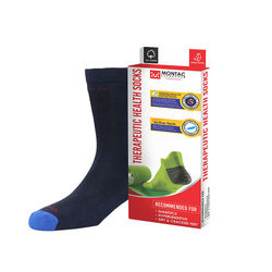 Montac Therapeutic Health Socks for Diabetics, black