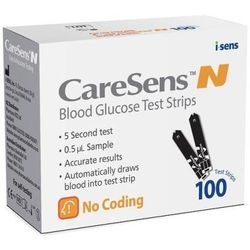 CareSens N Blood Glucose Test Strips, 100 pack