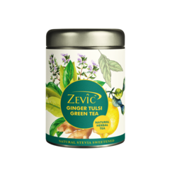Zevic Ginger Tulsi Herbal Calming Tea 50 gm - 25 Servings