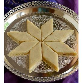 Misstevia Sugarfree Kaju Burfi - sweetened with Stevia - 250gms